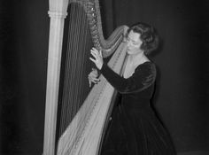 Harpist Edna Phillips (1907-2003) was just 23 – and had only been playing for five years - when , in 1930, Leopold Stokowski appointed her principal harp at the Philadelphia Orchestra – the first woman ever to join a major American orchestra. Phillips faced extreme prejudice, but her performances were acclaimed by both audiences and critics. Phillips is given prominence in Stokowski's orchestra in Disney's Fantasia. Photo: Emil Rhodes/Family collection