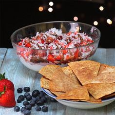 7 Layer Fruit Dip is the Perfect Party Dessert - Shared