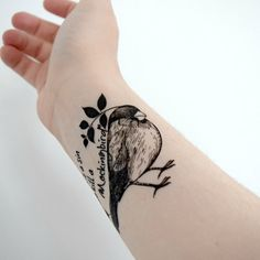 This beautiful and memorable bird: | 15 Harper Lee-Inspired Tattoos Because We'll Never Forget