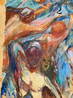 Edvard Munch (Norwegian, 1863-1944) Naked Figures, 1927-29