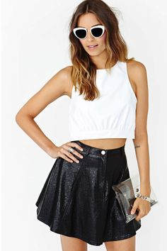 Light Years Crop Top | Shop Basics at Nasty Gal