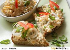 Voňavá pomazánka recept - TopRecepty.cz Baked Potato, Ham, Potato Salad, Food And Drink, Potatoes, Treats, Snacks, Chicken, Baking