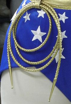 Wonder Womans Replica Golden Leather Lasso by WilliamsStudio2, $23.50 - I REALLY want one! I think that alone makes me a nerd :)