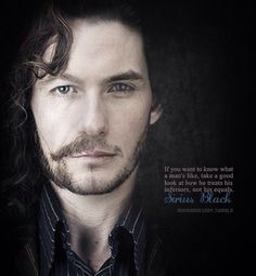 Ben Barnes would make an excellent Sirius Black