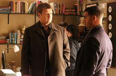 "Castle 5x17 ""Scared to Death"" - Nathan Fillion, Jon Huertas"