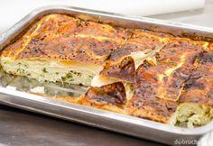 Turecký syrový koláč borek