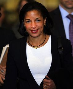 Susan Elizabeth Rice (b.1964) is the United States National Security Advisor. She is a former U.S. diplomat, former Brookings Institution fellow and former United States Ambassador to the United Nations. Rice served as Assistant Secretary of State for African Affairs during President Bill Clinton's second term. She was confirmed as UN ambassador by the U.S. Senate by unanimous consent on January 22, 2009, the first African American to hold this position. Elizabeth Rice, Important People, Inspiring People, African Diaspora, Black Queen, African American History, Beautiful Black Women, Black History, Brookings Institution