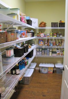 goodbye, house. Hello, Home! Homemaking, Interior Design Blog, Staging, DIY: The Organizing of a Walk-In Pantry
