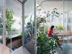 Ryue Nishiziwa's vertical garden house takes root in Tokyo. #inhabitat