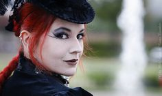 Victorian Gothic Smile by MADmoiselle_Meli, via Flickr