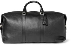 Mulberry Clipper Leather Holdall Bag