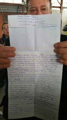 """""""Cartas desde la cárcel"""", Andrés Bódalo cuenta su día a día en la prisión de Jaén"""