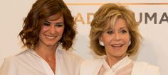 Jane Fonda pela primeira vez em Portugal a convite da L'Oréal Paris