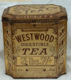 Antique Tea Tin ****
