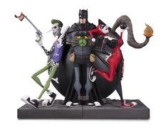 DC Gallery Joker & Harley Quinn Bookends