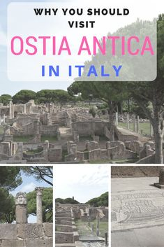 The beautifully preserved ruins of Ostia Antica will delight visitors from #Rome. Just a short train ride, Ostia Antica is a site you don't want to miss. asoutherntraveler.com