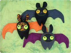Halloween Bat Plushie