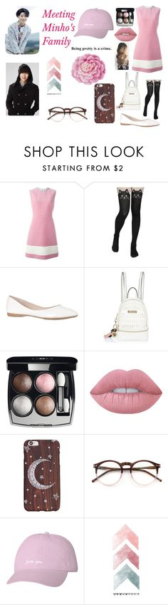 """Meeting Minho's Family!"" by laney-jae ❤ liked on Polyvore featuring Fendi, River Island, Chanel, Lime Crime, Wildfox and Ballard Designs"