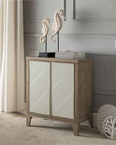 The K&B Furniture Antique White Wood Double Door Storage Cabinet channels subtle elegance. This stunning cabinet is equipped with two cabinets that. Entryway Console Table, Buffet Console, Wooden Console Table, Console Cabinet, Entryway Furniture, Table Furniture, Console Storage, Small Accent Tables, Sectional Sofa With Recliner