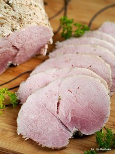 Smaczna Pyza sprawdzone przepisy kulinarne: Domowa wędlina. Łopatka peklowana, 3 razy krótko parzona