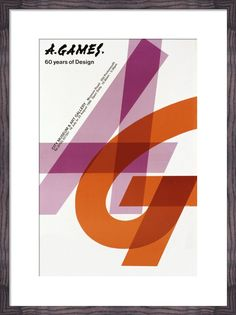 A.Games - 60 Years of Design Art Print by Abram Games | King & McGaw
