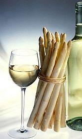 Wijn en......asperges! -