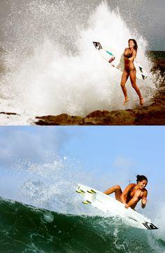 Malia Manuel- She ROCKS!