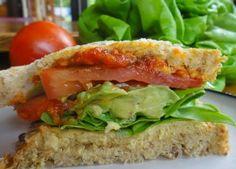 vegan sandwich, vegetarian sandwich, vegetable sandwich, healthy sandwich