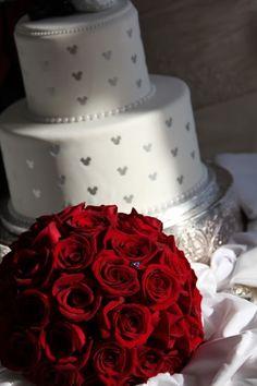 Wedding Spotlight: Claire + Mike Magical Day Weddings A Wedding Atlas Fan Site for Disney Weddings Disney Themed Cakes, Disney Cakes, Wedding Wishes, Our Wedding, Dream Wedding, 1920s Wedding, Disney Inspired Wedding, Disney Weddings, Fairytale Weddings
