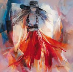 I want to say this is by Anna Razumovskaya But I just have that strong feeling I'm wrong and as I am having one of those brain melt moments,...