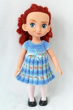 (6) Name: 'Knitting : Dresses for 16' dolls.