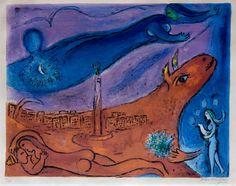Marc Chagall, La Bastille, 1968