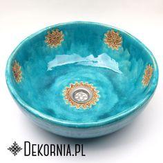 Ceramic sink with oriental pattern, Turquoise washstand, unique washbasin #pattern #design #Turquoise #sink #washbasin #washstand
