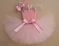 Light+Pink+Birthday+Tutu+Dress+Toddler+Tutu+by+APocketfulofBows,+$28.99