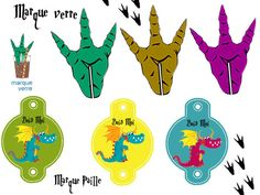 marqueurs Dragon Party, Dragons, Dinosaur Party, 4 Kids, Party Printables, Embellishments, Birthdays, Diy Crafts, Activities
