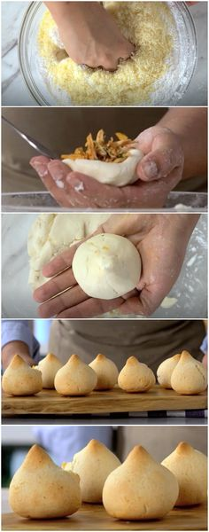 Coxinha com Massa de Pão de Queijo (veja a receita passo a passo) #pãodequeijo #coxinha #coxinhacommassadepãodequeijo #tastemade