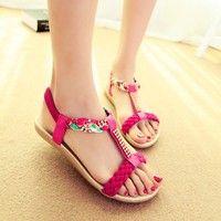 I think you'll like new 2014 women sandal woman sandals for women flats flip flops Slippers Wedges sandal Girl summer shoes women pumps casual heel. Add it to your wishlist!  http://www.wish.com/c/53d5e74bd9113952b2499b05