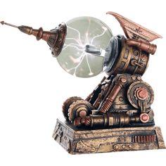 Steampunk Ray Gun Plasma Ball - by Medieval Collectibles Steampunk Home Decor, Steampunk House, Steampunk Gears, Steampunk Design, Steampunk Fashion, Steampunk Pistol, Steampunk Interior, Steampunk Airship, Steampunk Gadgets