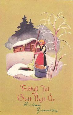 Holiday Cards, Christmas Cards, Christmas Ornaments, Holiday Decor, Christmas Past, Vintage Christmas, Childrens Christmas, Scandinavian Christmas, Christmas Inspiration