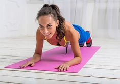 Fitness Motivation : How To Do A Proper Plank Exercise www. - All Fitness Quick Ab Workout, Plank Workout, Fun Workouts, Treadmill Workouts, Fitness Workouts, Lose Your Belly Diet, Lose Belly Fat, Lower Belly, Exercises