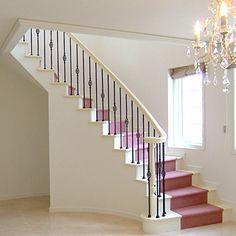 輸入住宅の階段6