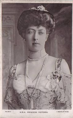 Princess Victoria of Britain, daughter of Edward VII and Queen Alexandra of Denmark