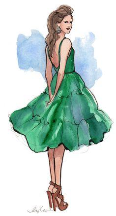 #illustration #fashiondesign #macaronfashion