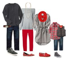 """""""Grey and Red"""" by lindsay-tague-badalamenti on Polyvore featuring Hollister Co., T By Alexander Wang, Stella & Dot, Gap, Nine West, Old Navy, TOMS, George, Converse and adidas Golf"""