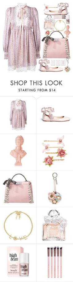 """Make it reign"" by naki14 ❤ liked on Polyvore featuring Marc Jacobs, Gianvito Rossi, Cire Trudon, Accessorize, Fendi, Chloé, Guerlain, romantic, Bohemian and inspiration"