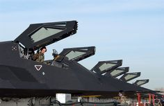 Picture of the Lockheed F-117 Nighthawk (Stealth Fighter)