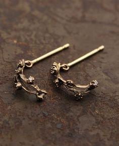 earrings by noguchi, japan