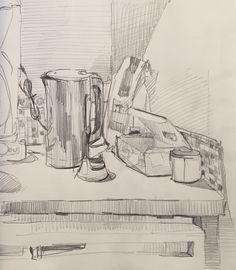 Sketchbook by Sarah Sedwick. 4.1.16. #art #drawing #sarahsedwick