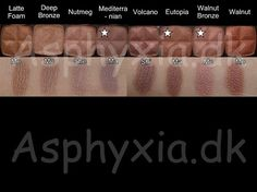 NYX 162 single eyeshadow swatches, complete with the 50 retired shades. Skincare Dupes, Makeup Dupes, Beauty Makeup, Makeup 101, Makeup Ideas, Nyx Single Eyeshadow, Nyx Eyeshadow, Nyx Swatches, Makeup Swatches