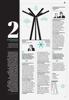 L'inserto 01 - special section of the magazine IL by undesign , via Behance